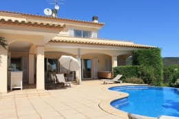 Villa Mediterranea,Прекраснкая, уютная вилла   с частным бассейном на 6 человек в Calonge, Catalunya, в Испании...