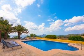 Вилла  с частным бассейном  на 8 человек в Бениссе, нa Коста Бланкe, в Испании, Benissa