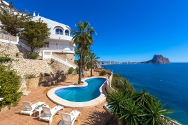 Большая вилла   с частным бассейном на 20 человек в Кальпе, нa Коста Бланкe, в Испании, Calpe