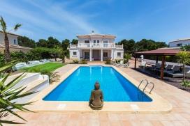 Красивая, комфортабельная вилла   с частным бассейном на 6 человек в Хавии, нa Коста Бланкe, в Испании, Javea