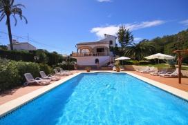 Прекрасная, приятная вилла   с частным бассейном на 6 человек в Хавии, нa Коста Бланкe, в Испании, Javea