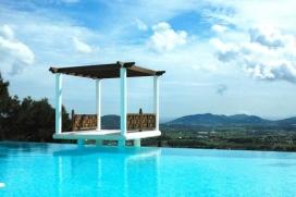 Красивая, роскошная вилла  с частным бассейном  на 12 человек в San Lorenzo, в Ивисe, в Испании, San Lorenzo