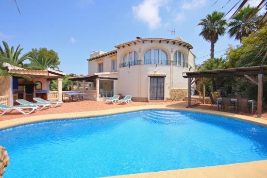 Maison de vacances Villa Bougain 10, Javea