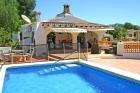 Casa Xativa,Villa merveilleuse et confortable à Moraira, sur la Costa Blanca, Espagne  avec piscine privée pour 6 personnes...