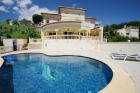 Coolavin,Grande villa classique  avec piscine privée à Moraira, sur la Costa Blanca, Espagne pour 6 personnes...