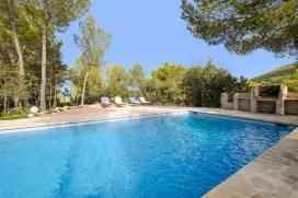 Villa charmante et confortable  avec piscine privée à Cala D Hort, Ibiza, Espagne pour 8 personnes, Cala D Hort
