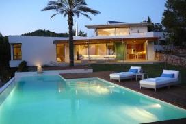 Villa moderne et de luxe  avec piscine privée à Cala Salada, Ibiza, Espagne pour 10 personnes, Cala Salada
