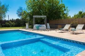 Grande villa comfortable  avec piscine privée à Jesus, Ibiza, Espagne pour 8 personnes, Jesus