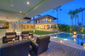 Grande villa de luxe à Canggu, Bali, Indonésie  avec piscine privée pour 10 personnes, Canggu