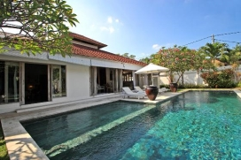 Villa merveilleuse et de luxe à Seminyak, Bali, Indonésie  avec piscine privée pour 6 personnes, Seminyak