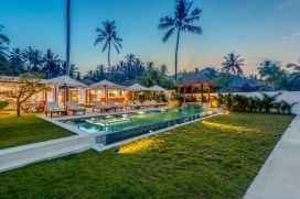 Wonderful and luxury villa  with private pool in Candidasa, Bali, Indonesia for 8 persons, Candidasa