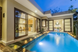Beautiful and luxury villa  with private pool in Legian, Bali, Indonesia for 2 persons, Legian