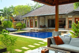 Beautiful and luxury villa  with private pool in Seminyak, Bali, Indonesia for 10 persons, Seminyak