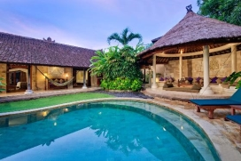 Beautiful and luxury villa in Seminyak, Bali, Indonesia  with private pool for 4 persons, Seminyak