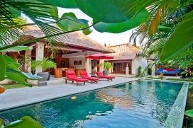 Beautiful and cheerful villa  with private pool in Seminyak, Bali, Indonesia for 6 persons, Seminyak