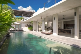 Beautiful and luxury villa  with private pool in Seminyak, Bali, Indonesia for 8 persons, Seminyak