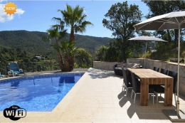 Tree House Villa, Beautiful and comfortable villa in Calonge, Catalonia, Spain  with private pool for 10 persons...