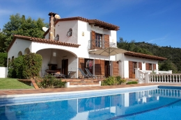 Villa Bella Vista, Wonderful and romantic villa  with private pool in Calonge, Catalonia, Spain for 6 persons...
