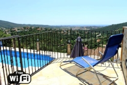 Villa La Vista, Wonderful and romantic villa  with private pool in Calonge, Catalonia, Spain for 6 persons...