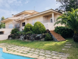 Villa Verge de Nuria, Villa  with private pool in Calonge, Catalonia, Spain for 8 persons...