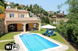 Wonderful and romantic villa  with private pool in Calonge, Catalunya, Spain for 8 persons, Calonge