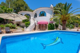 Rustic and comfortable villa  with private pool in Altea, on the Costa Blanca, Spain for 4 persons, Altea