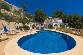 Wonderful and romantic villa  with private pool in Benissa, on the Costa Blanca, Spain for 6 persons, Benissa