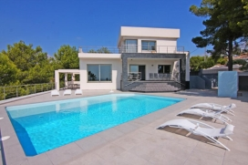 Beautiful and comfortable villa in Benissa, on the Costa Blanca, Spain  with private pool for 8 persons, Benissa
