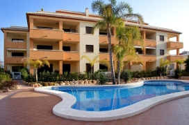 "A very nice holiday apartment in Javea for a maximum of 4 people. Situated jus at <metricconverter w:st=""on"" ProductID=""300 meters"">300 meters</metricconverter> from the Sandy beach and beside the Tennis Club, this is a very quiet area but only a short step away from facilities of water sports, restaurants, banks, bars, shops, supermarkets and bus…., Javea"