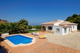 Holiday villa that allows pets in Javea / Xabia, Costa Blanca Spain for 6 people - Villa Cabo Negro