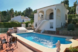 Beautiful and comfortable villa  with private pool in Javea, on the Costa Blanca, Spain for 10 persons, Javea
