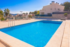 Beautiful and comfortable holiday home in Moraira, on the Costa Blanca, Spain  with communal pool for 6 persons, Moraira