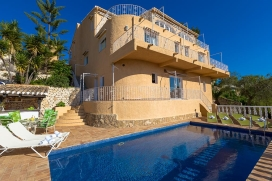Classic and romantic villa  with private pool in Moraira, on the Costa Blanca, Spain for 10 persons, Moraira