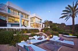 Beautiful and luxury villa in Cala Vadella, Ibiza, Spain  with private pool for 6 persons, Cala Vadella