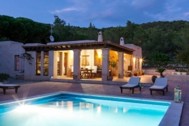 Beautiful and comfortable villa in Ibiza Town, Ibiza, Spain  with private pool for 6 persons, Ibiza Town