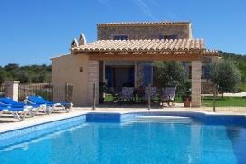 Wonderful and luxury villa in Son Servera, Mallorca, Spain  with private pool for 6 persons, Son Servera