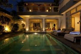 Schöne und Luxus Villa  mit privatem Pool in Canggu, auf Bali, Indonesien für 2 Personen, Canggu