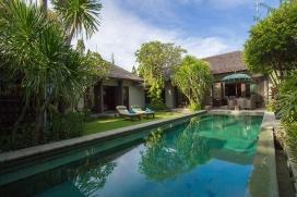 Schöne Villa  mit privatem Pool in Seminyak, auf Bali, Indonesien für 4 Personen, Seminyak