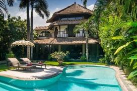 Grosse und schöne Villa in Seminyak, auf Bali, Indonesien  mit privatem Pool für 4 Personen, Seminyak