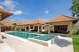 Schöne und Luxus Villa  mit privatem Pool in Seminyak, auf Bali, Indonesien für 8 Personen, Seminyak