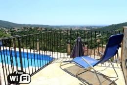 Villa La Vista,Wunderschöne und romantische Villa  mit privatem Pool in Calonge, Catalonia, Spanien für 6 Personen...