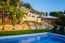 Villa Roja,Villa  mit privatem Pool in Calonge, Catalonia, Spanien für 8 Personen...