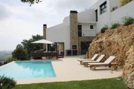 Moderne und Luxus Villa  mit privatem Pool in Calonge, Catalunya, Spanien für 6 Personen, Calonge