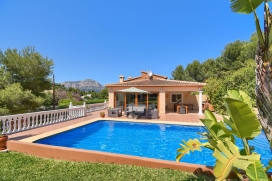 Schöne Villa  mit privatem Pool in Javea, an der Costa Blanca, Spanien für 8 Personen, Javea