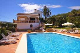 Grosse und schöne Villa in Javea, an der Costa Blanca, Spanien  mit privatem Pool für 12 Personen, Javea