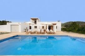 Rustikale und gemütliche Villa  mit privatem Pool in Cala Llonga, auf Ibiza, Spanien für 6 Personen, Cala Llonga